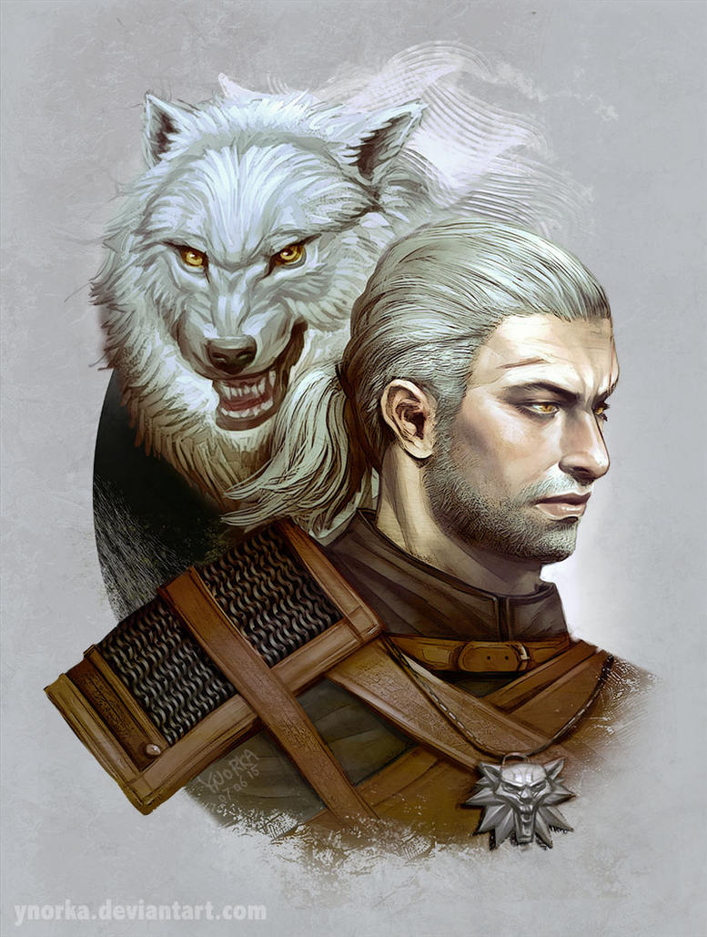 The White Wolf by ynorka