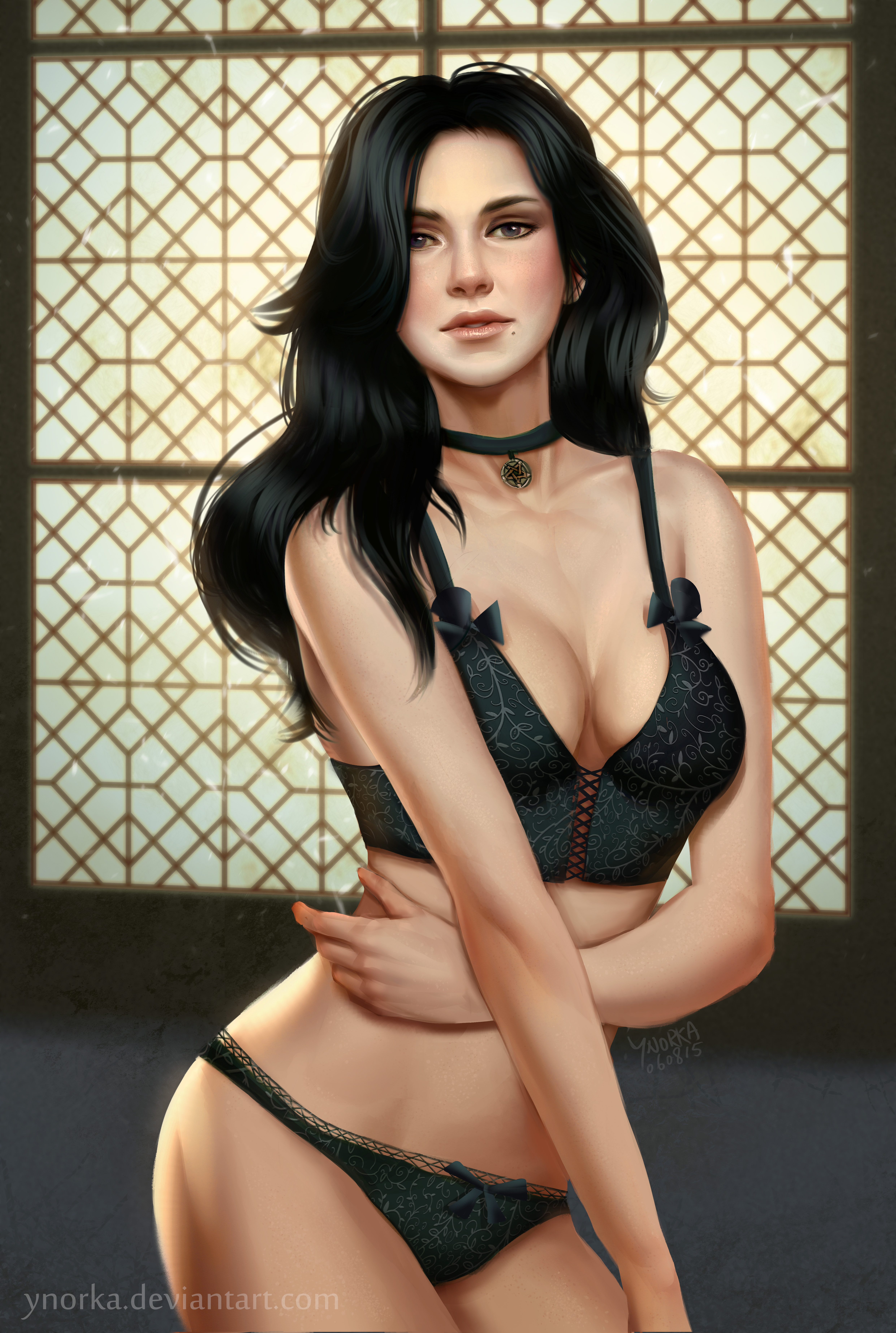 Yennefer with large tits