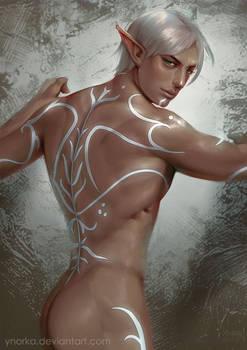 Fenris's back
