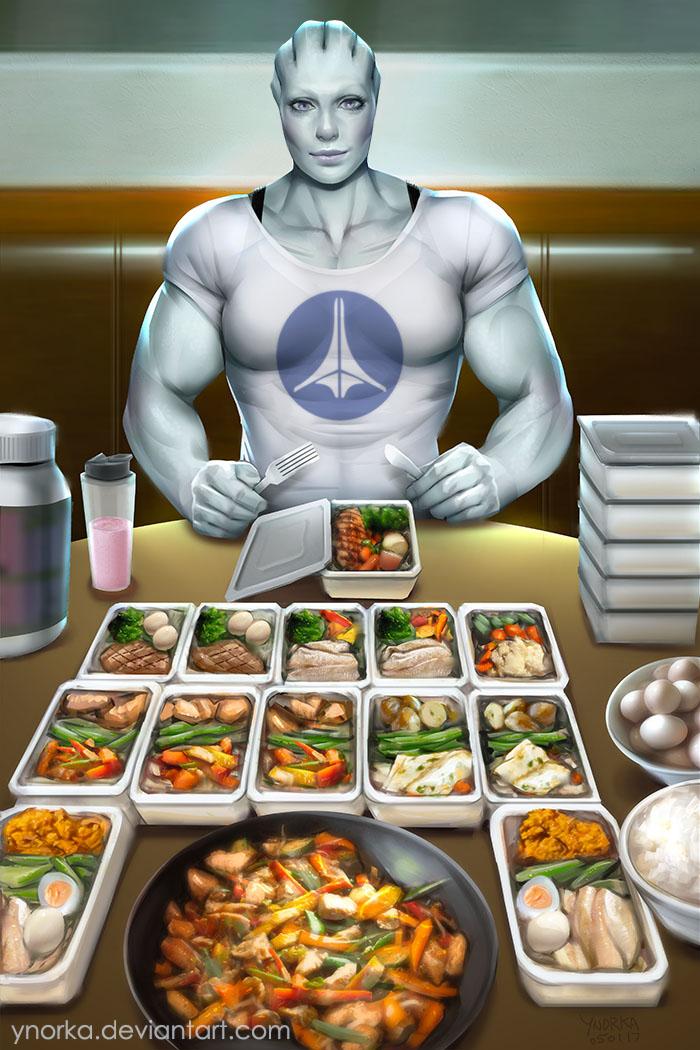 Lysaia's Meal Prep by ynorka
