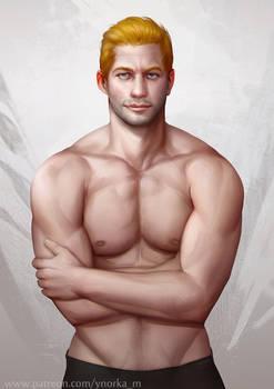 Topless Cullen..