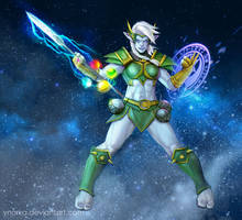 Azeroth the Defender by ynorka