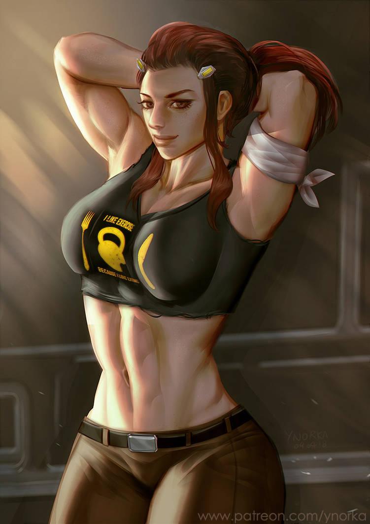 Brigitte (Overwatch) by ynorka on DeviantArt