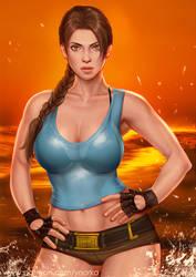 Lara Croft by ynorka