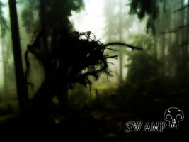 Magic The Gathering Swamp by wallofstars