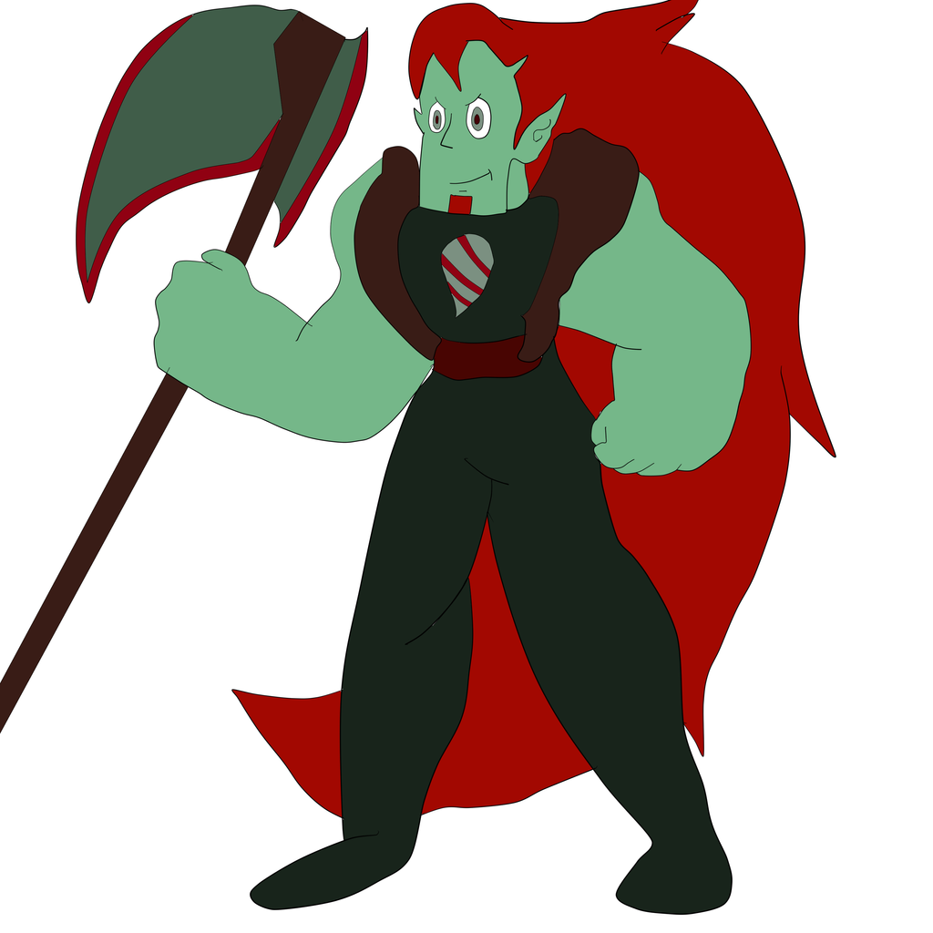 Steven Universe Oc: BloodStone by boooooki on DeviantArt