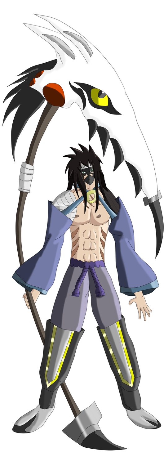 New Naruto Oc: Kao Momochi by boooooki