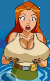 Totally spies big tits