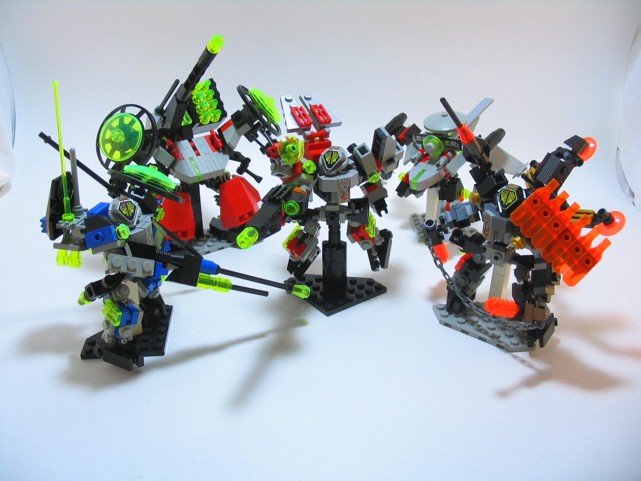 Lego Mech Squad by illogictree