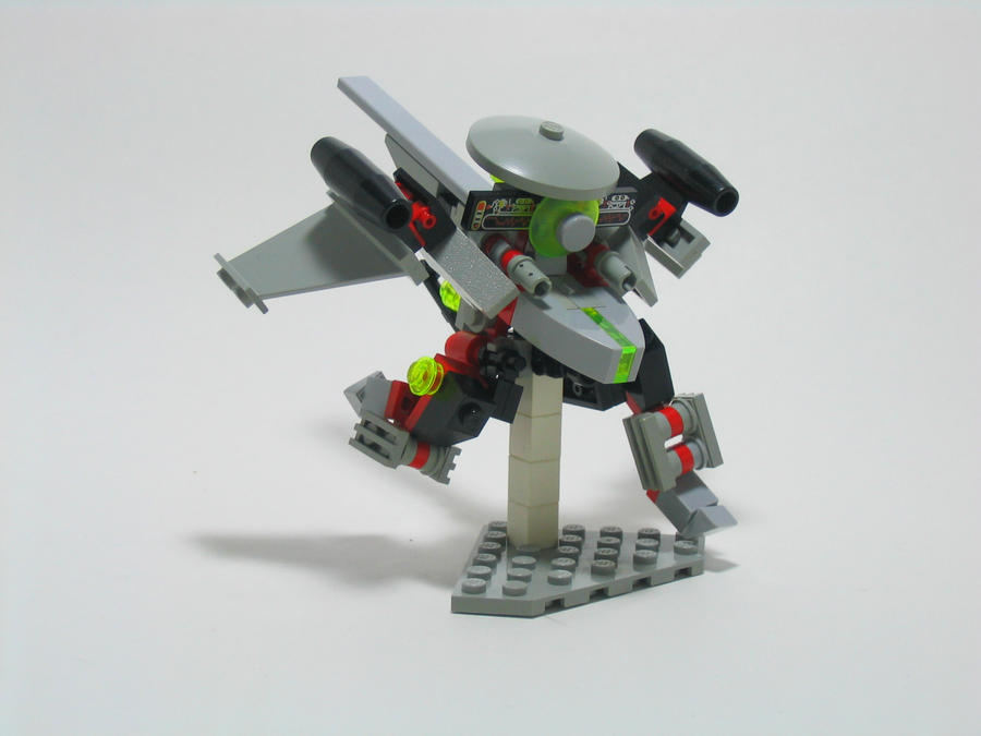 LEGO UFO Scout Mech by illogictree