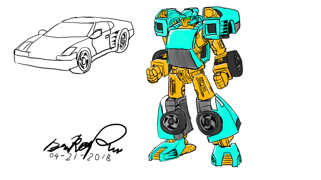 Autobot Art Stream Apr 21 2018 by illogictree