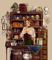 Merchant Witch by Amelia-Wilde