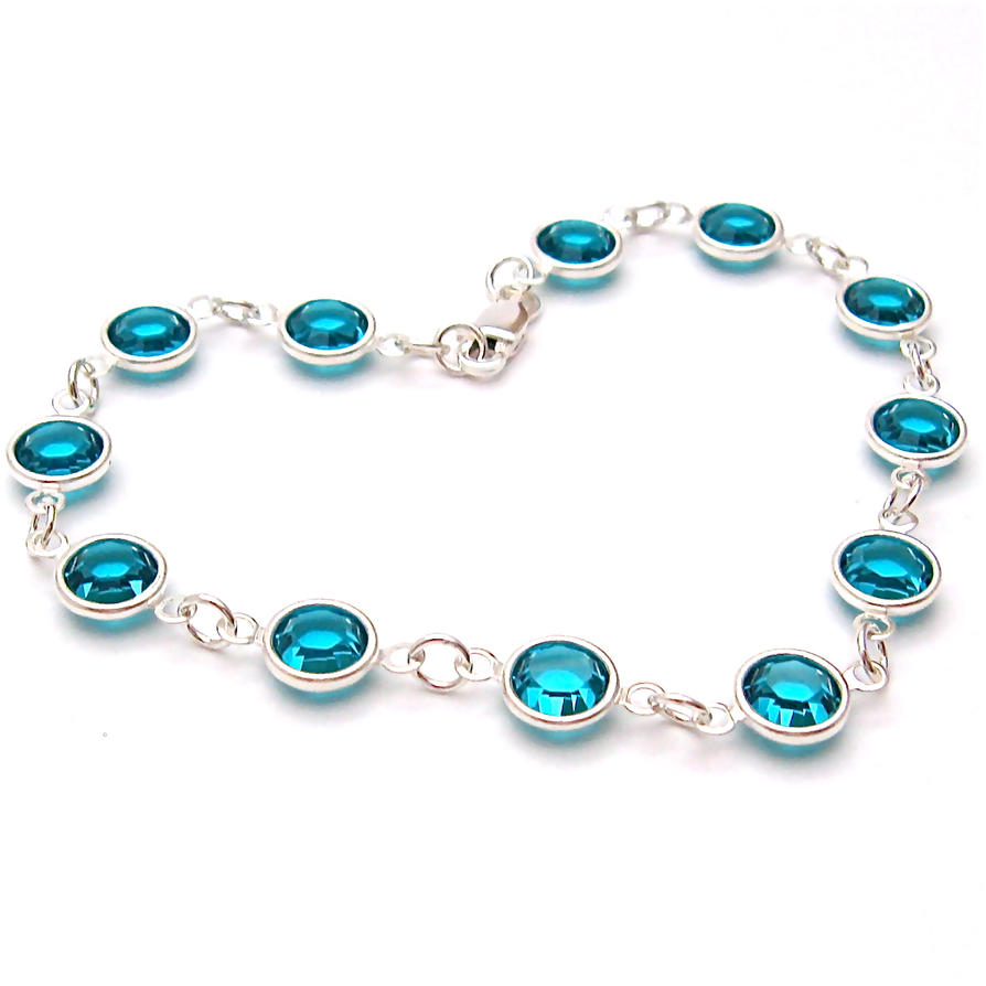 zircon swarovski b products bluezircon by a amy jewels handcrafted bracelet blue