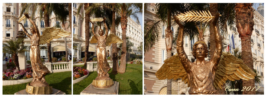 Cannes golden lady ser by BernardoDisco