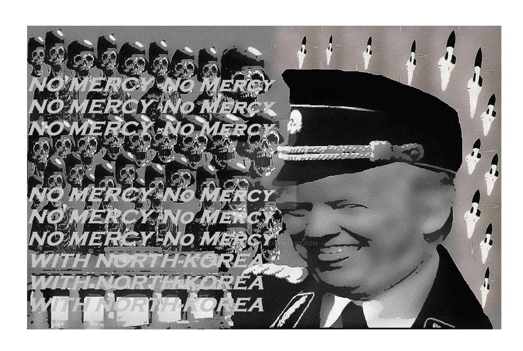 DonaldTrump No Mercy with North-Korea by BernardoDisco