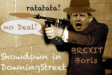 BorisJohnson Showdown in Downing Street by BernardoDisco