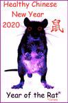 HealthyChineseNewYear 2020 Year of the Corona Rat by BernardoDisco