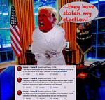 DonaldTrump They have stolen my election I by BernardoDisco