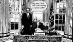 DonaldTrump Antichrist bw by BernardoDisco