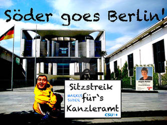 MarkusSoeder goes Berlin Kanzleramt I