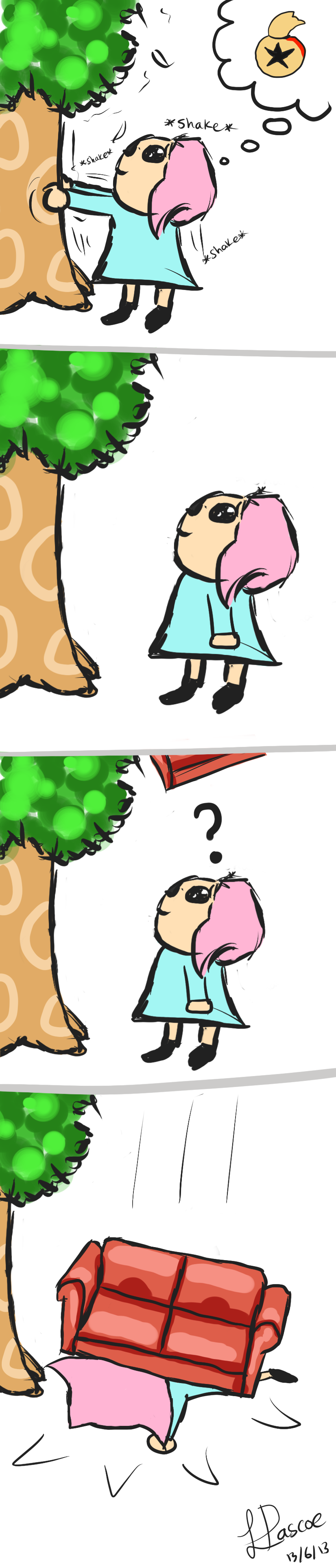 Animal Crossing: The Jist of Tree Shaking by HollysHobbies