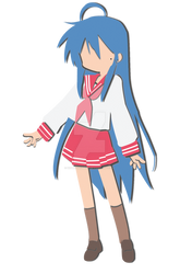 Konata Izumi 3D Digital Paper Child