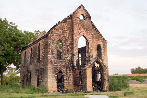 burned church by Audrey7648