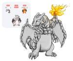 Onizard - Fanart - Pokemon Fusion