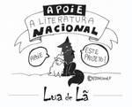 Apoie a literatura Brasileira - Lua de La