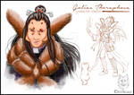 Golias Theraphosa Character Design