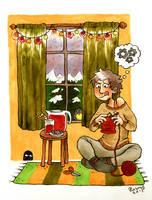 Stay warm by Roihe