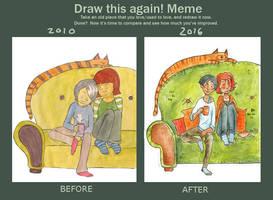 Draw this again by Roihe