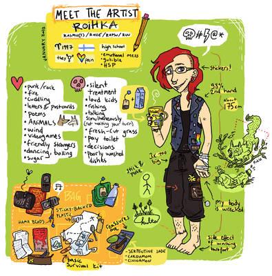 Meet the Artist - Roihe