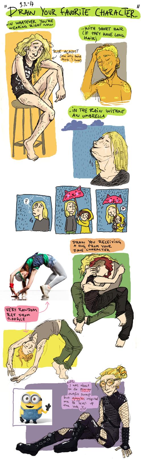 OC dump meme-ish II by Roihe