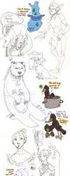 Sketch Dump III by Roihe
