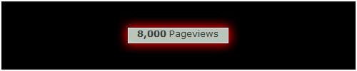 8000 Pageviews