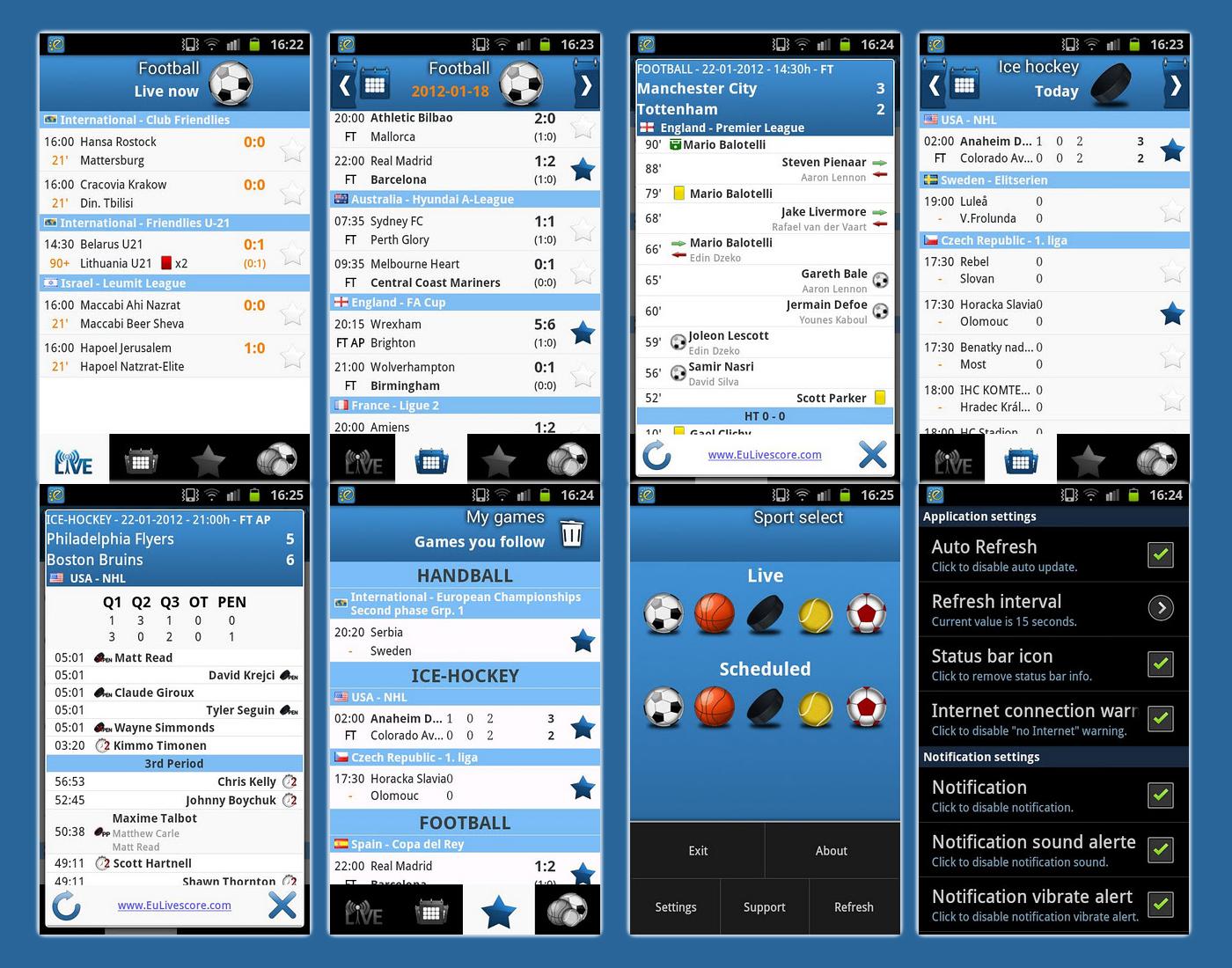 www livescore com handball