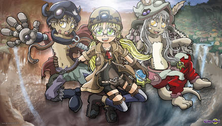 Made In Abyss (Reg, Riko, Nanachi)