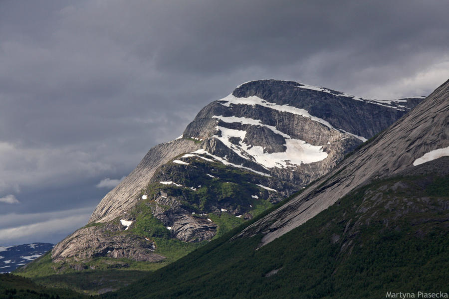 Mountain by Piasecka