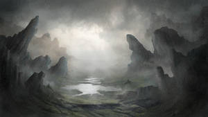 Painting a Fantasy Environment in Photoshop