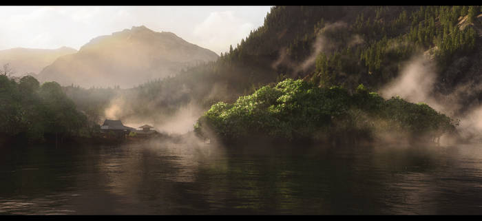 Morning Lake