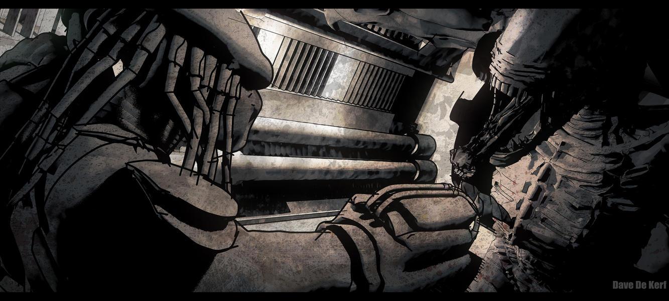 Alien vs. Predator by Dave-DK