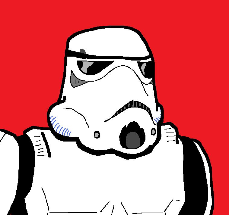Stormtrooper by spideyxraefan