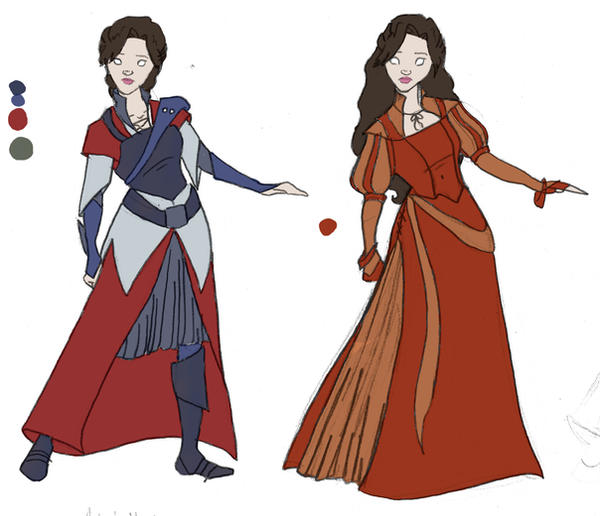 Narnia-Costume Designs II by CaribbeanMouse ...  sc 1 st  DeviantArt & Narnia-Costume Designs II by CaribbeanMouse on DeviantArt