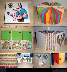 Egyptian Book Series by BoekBindBoetiek