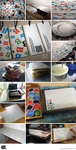 (The making of) BBB Business Cards by BoekBindBoetiek