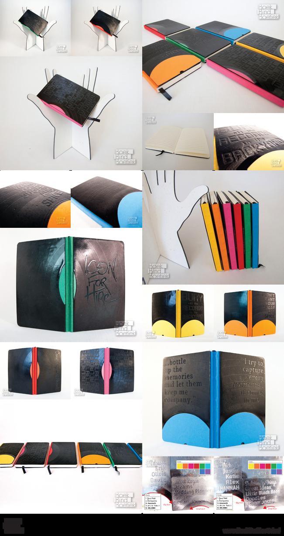 Customizable Vinyl Record Pocket Books by Marenne