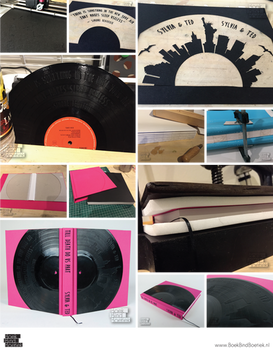 The Making of a Vinyl Record Book