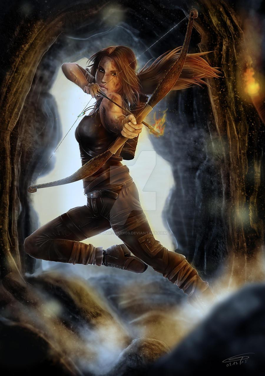 Lara croft fan art
