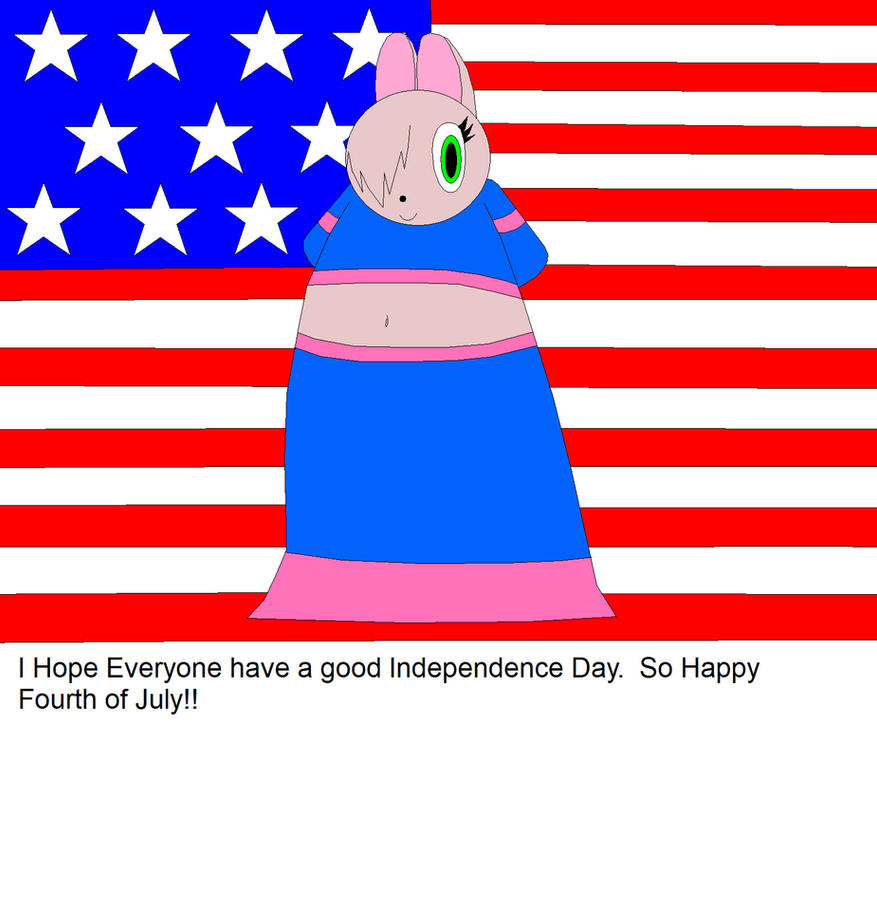 Maydines Fourth Of July Greetings By Medalbambi On Deviantart